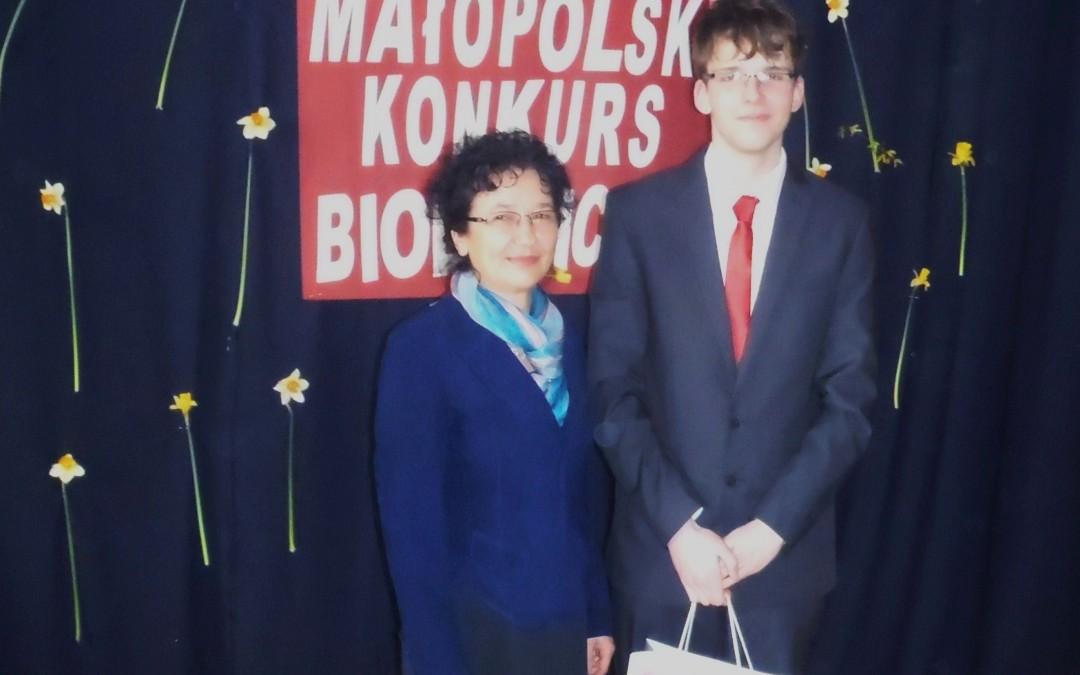 Sądeczanin laureatem Małopolskiego Konkursu Biologicznego – artykuł z portalu Sądeczanin.info