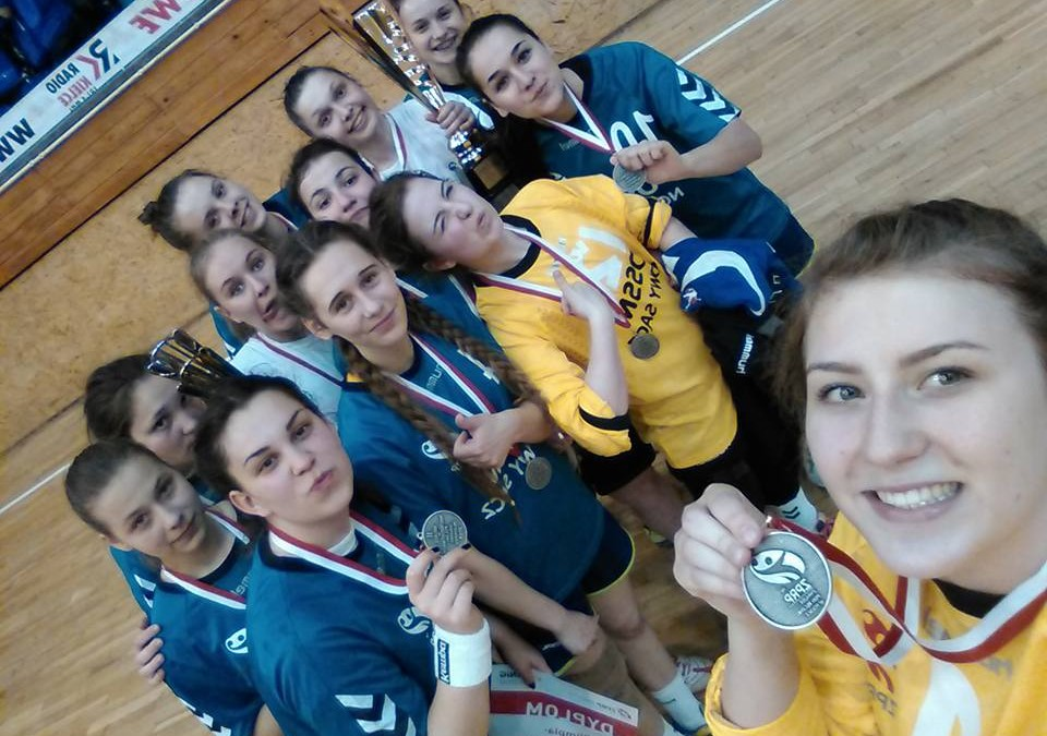 Juniorki młodsze Olimpii – Beskid wicemistrzyniami Polski