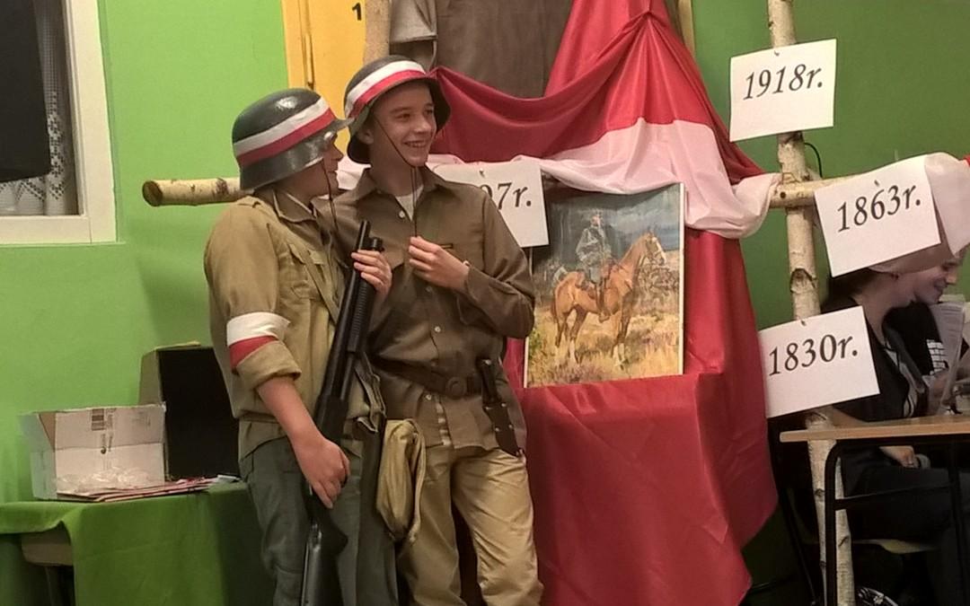 """""""Stanę na każde Twoje zawołanie Polsko!""""- sztafeta pokoleń"""